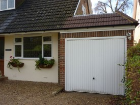 The garage extension